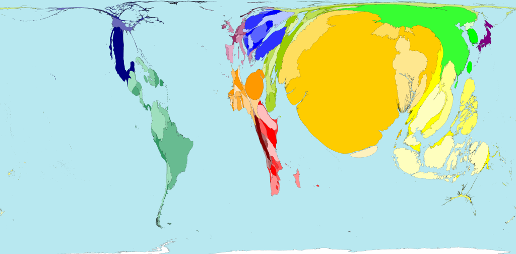 Worldmapper the world as youve never seen it before this map of where the men who are farmers live and work shows a broadly similar distribution as the equivalent map for women however a larger proportion of sciox Images