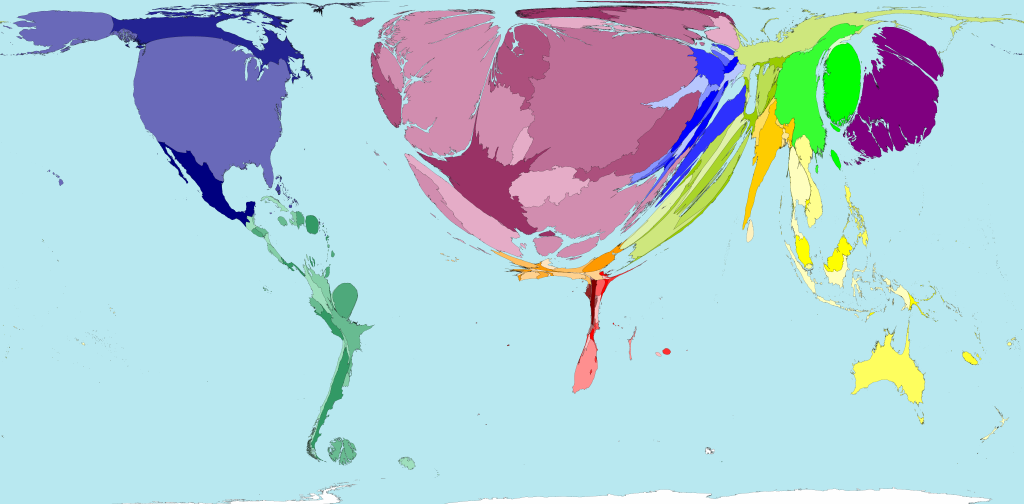 Worldmapper archive the world as youve never seen it before carrying cash from one developed country to another is simply not necessary anymore using visa payment cards is easier and safer kamran siddiqi 2005 gumiabroncs Gallery